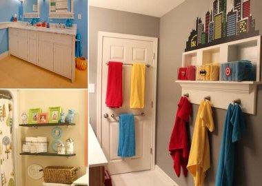 10 Cute and Creative Ideas for a Kids' Bathroom fi