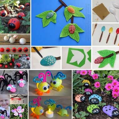 10 DIY Bug Crafts You Would Love to Try fi