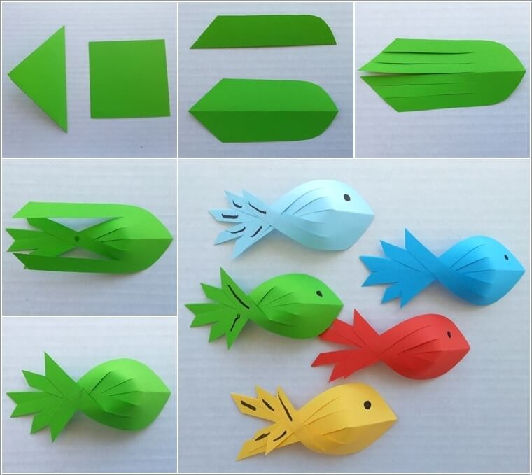10 easy paper crafts to try with kids for Easy crafts to make with paper