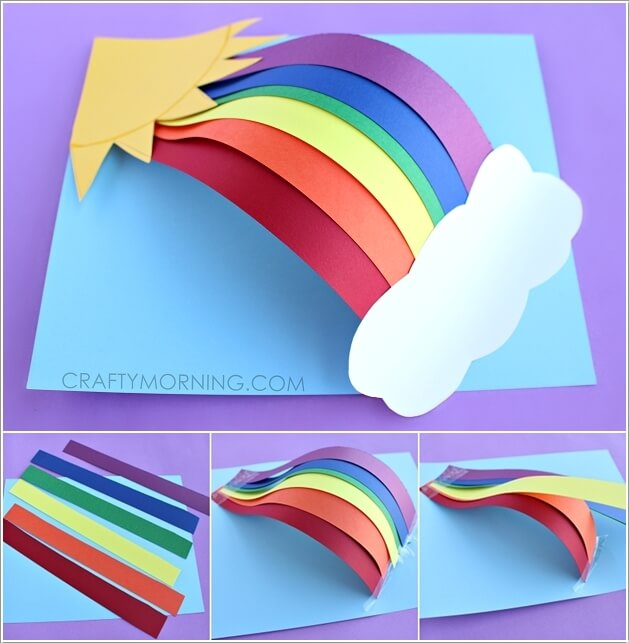 10 easy paper crafts to try with kids for Easy crafts for kids with construction paper