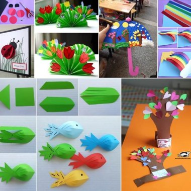 10 Easy Paper Crafts to Try with Kids fi