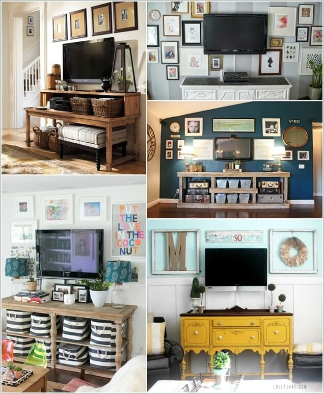 5 You Can Include A TV Screen Too It Is Great Way To Disguise The Big Black Square Of