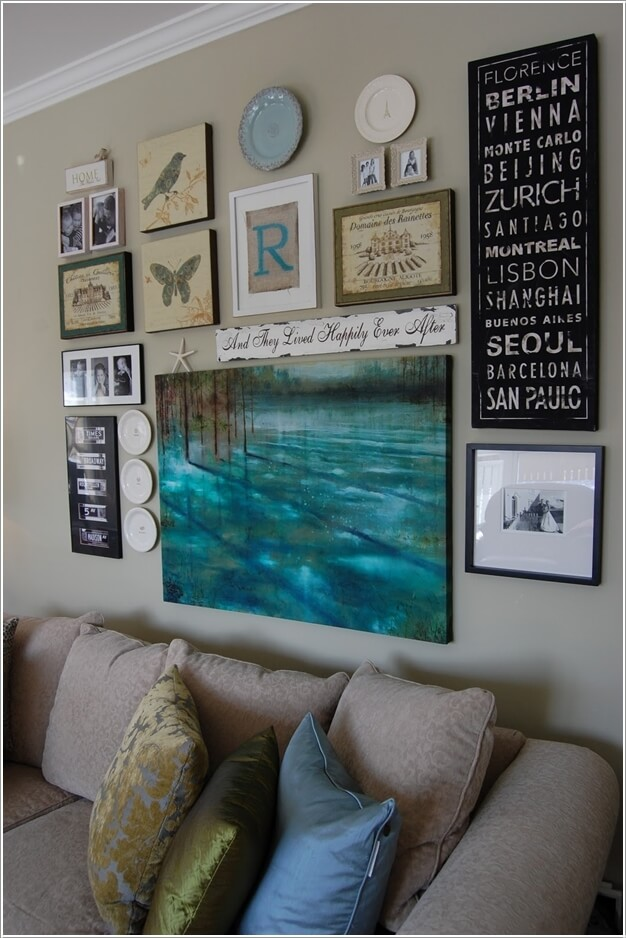 10 Ways To Make A Wall Grouping Eye Catching