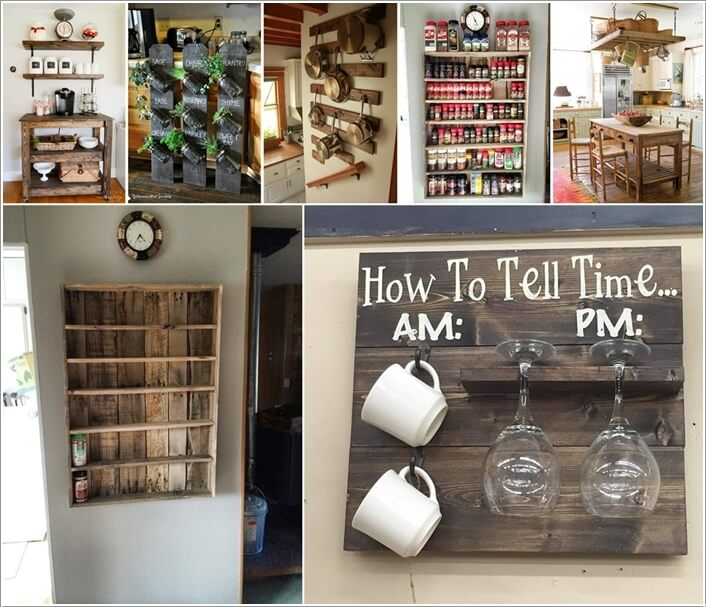 Charming Pallet Projects Part - 10: Amazing Interior Design
