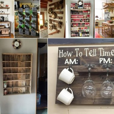 10 Wonderful Pallet Projects for Your Kitchen fi