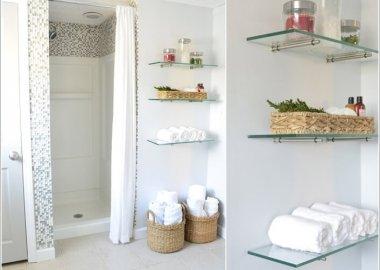 15 DIY Bathroom Shelving Ideas That Can Boost Storage 11