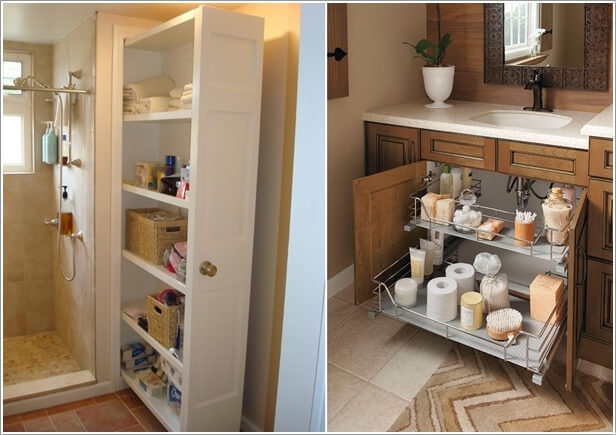 Install Pull Out Shelves So That The Stored Items Can Be Hidden Away When  Not Needed Part 57