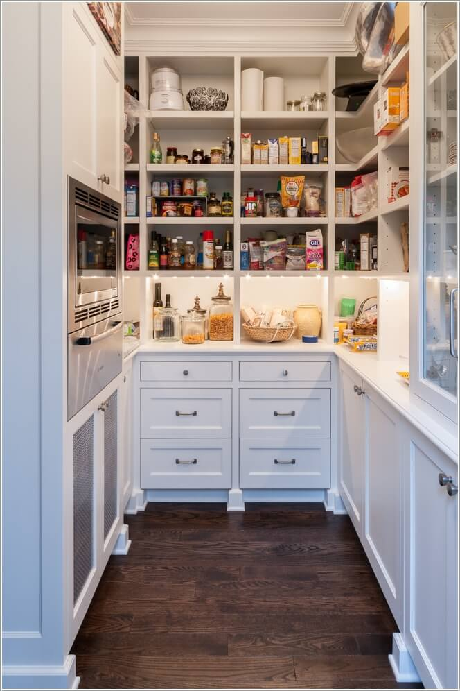 15 Wonderful Pantry Makeover Ideas For Your Home