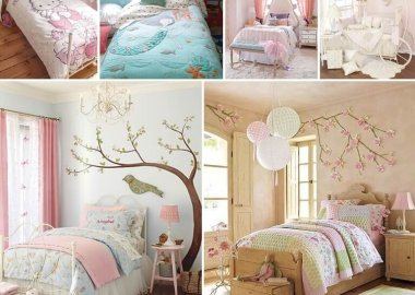 31 Lovely Bedding Ideas for Girls' Bedroom fi