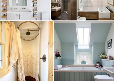 Clever Design Tips for a Small Bathroom fi