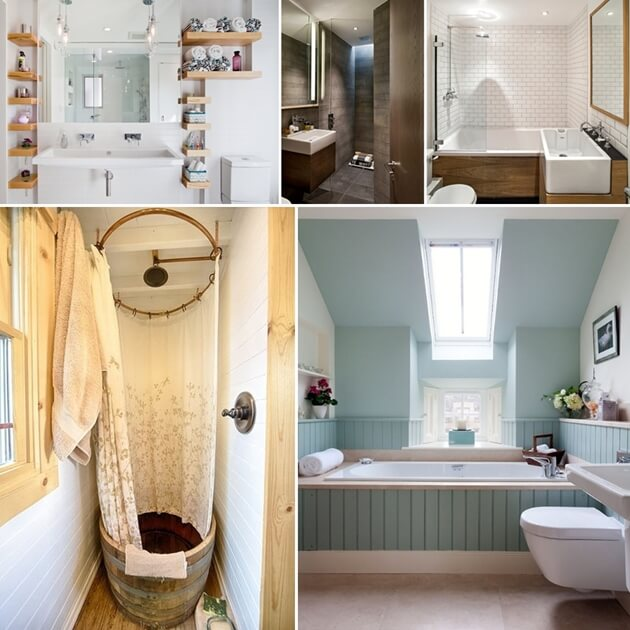 Clever design tips for a small bathroom - Clever small bathroom designs ...