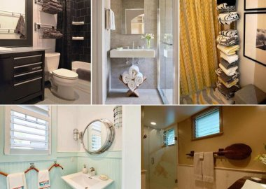 Clever Ways to Store Towels in a Bathroom fi