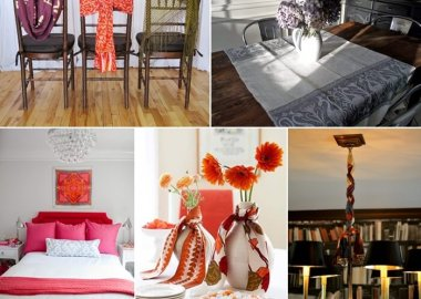 Cool Ways to Decorate Your Home with Scarves fi
