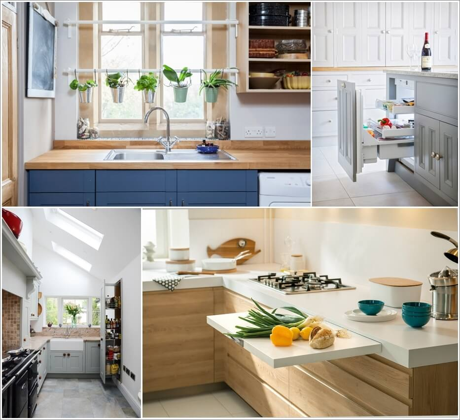 things you never thought would fit in your small kitchen