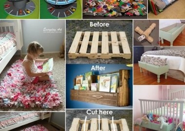 10 Fun Projects for Kids' Room from Recycled Objects fi