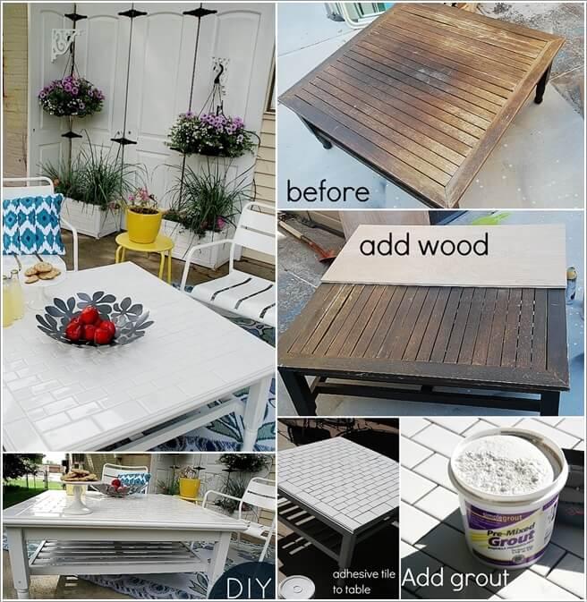 10 Garden Furniture Makeover Ideas You Will Admire