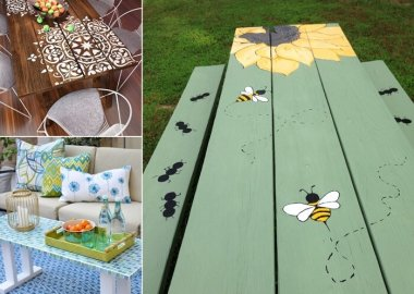 10 Garden Furniture Makeover Ideas You Will Admire fi