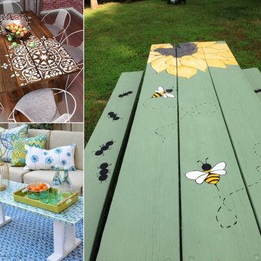 10 Garden Furniture Makeover Ideas You Will Admire fi
