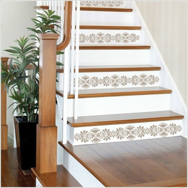 Creative Diy Tips For Decorating Your Stairs: 10 Super Cool Ways To Paint Your Stairs