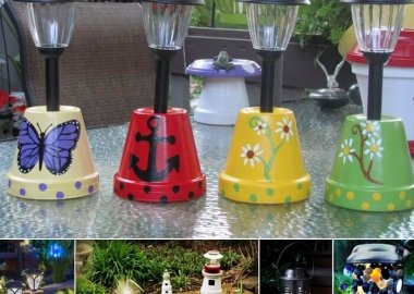 13 DIY Solar Lamp Ideas for Your Garden fi
