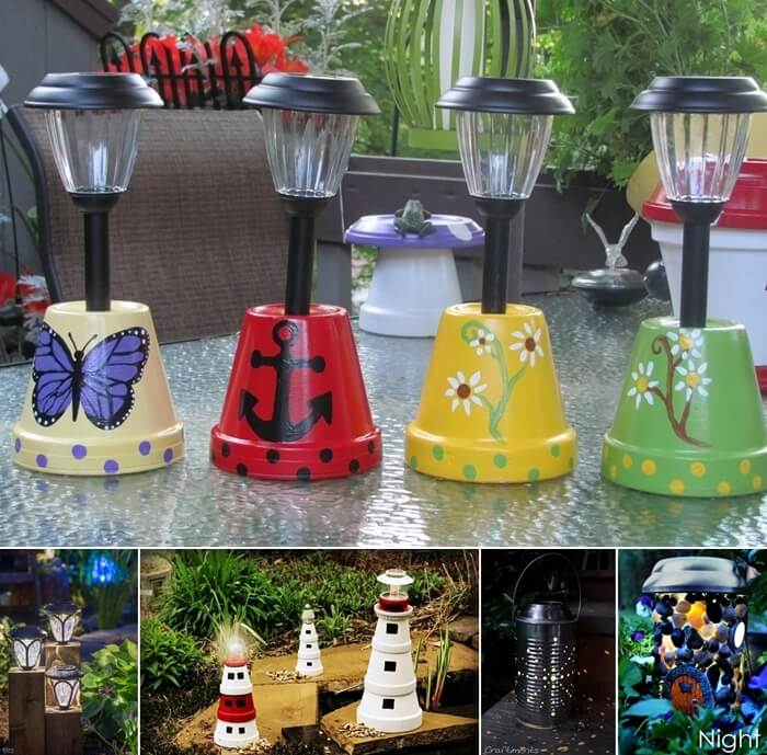 13 DIY Solar Lamp Ideas For Your Garden