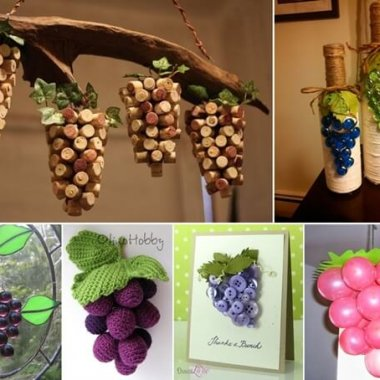 13 Super Cool Grape Crafts to Make This Spring fi