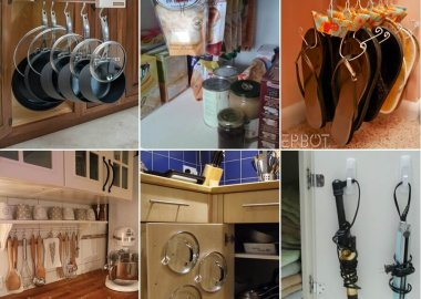 15 Clever Ways to Organize with Hooks fi