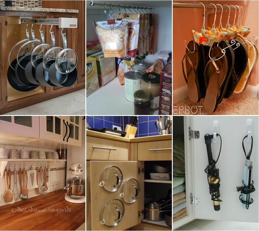 15 Clever Ways To Organize With Hooks