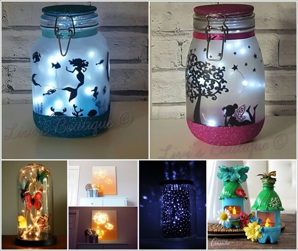 21 Creative Diy Lighting Ideas: 15 Cool And Creative DIY Night Light Projects