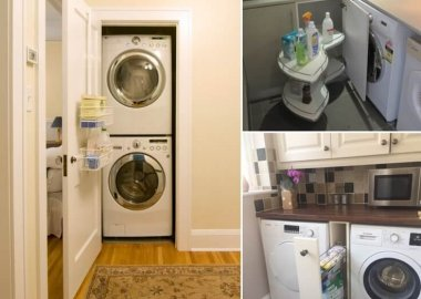 Clever Solutions for Laundry Supplies Storage fi
