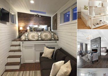 Clever Ways to Design a Living Room and Bedroom Combo fi