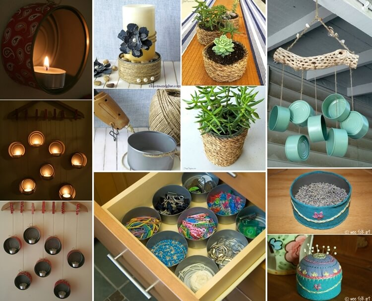 Clever Ways To Upcycle Empty Tuna Cans