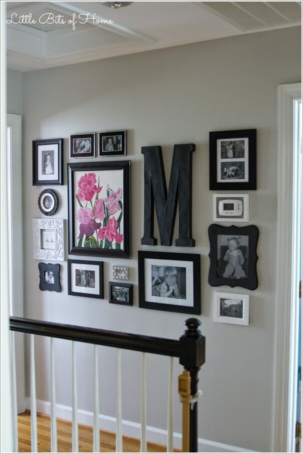 Superior Design A Gallery Wall With A Mix And Match Of Wall Decor Items And Picture  Frames Photo