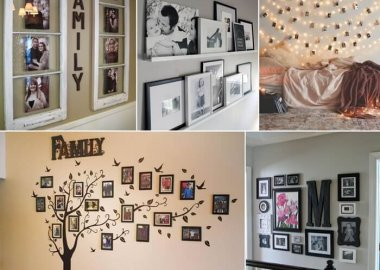 Design A Photo Wall to Revive Your Memories Everyday fi