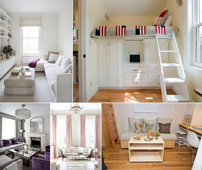 Ideas to make a small room look bigger - How to make a small space look bigger ...