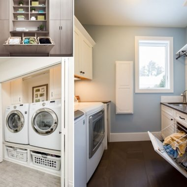 Make Your Laundry Room Practical with Hampers and Baskets fi