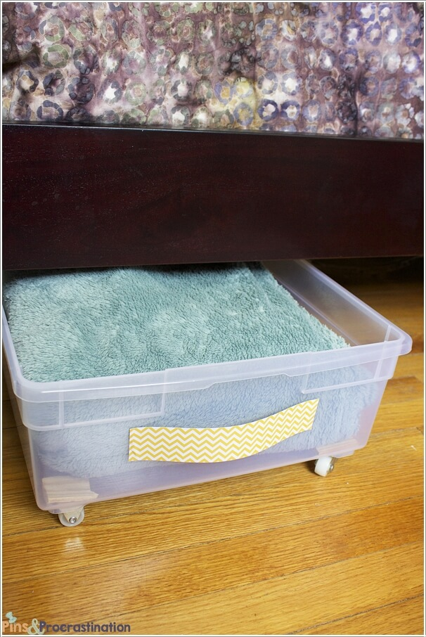 Organize Your Home With Plastic Bins And Baskets