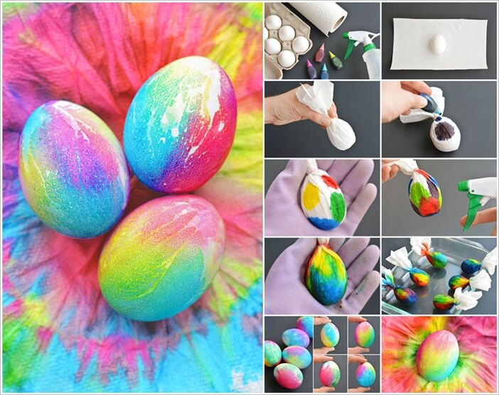 These Tie Dye Easter Eggs Are Simply Wonderful