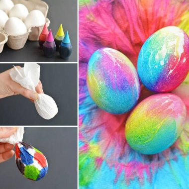 These Tie Dye Easter Eggs are Simply Wonderful fi