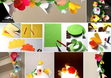 Try This Easy Flower Garland for Spring Decor fi
