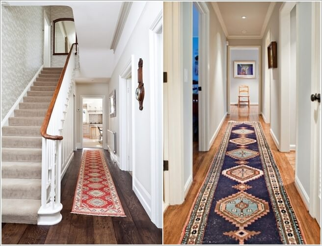Spice Up The Hallway With A Traditional Runner
