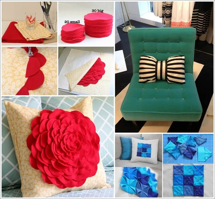 10 chic diy decorative pillow ideas Making Decorative Pillows