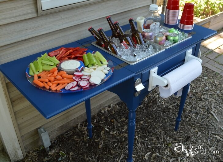 10 Clever Ways To Recycle An Antique Sewing Table