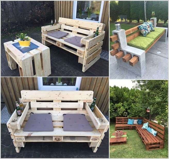 10 cool diy outdoor couch ideas solutioingenieria Images