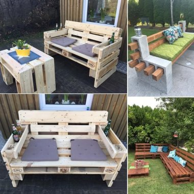 10 Cool DIY Outdoor Couch Ideas fi