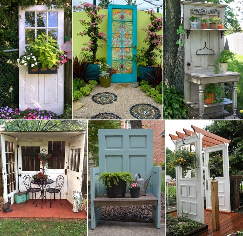 10 Creative Old Door Projects for Your Garden on blue garden, secret garden, old brick garden, old window garden, old wood garden, victorian shabby chic garden, cottage garden, old roof garden, old boat garden, rustic garden, kitchen garden, old car garden, art garden, old bed garden, old mirror garden, old wall garden, old bathtub garden, desk garden, sunset garden, vintage garden,