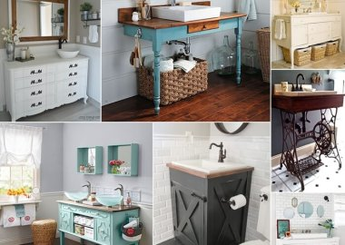10 DIY Bathroom Vanity Designs You Will Admire fi