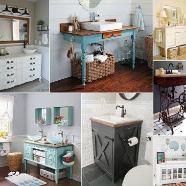 10 DIY Bathroom Vanity Designs You Will Admire fi