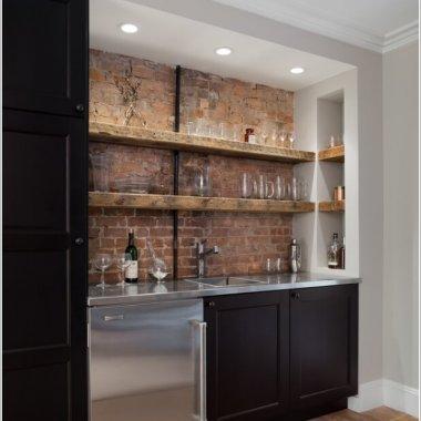 10 Cool and Creative Home Bar Lighting Ideas 6