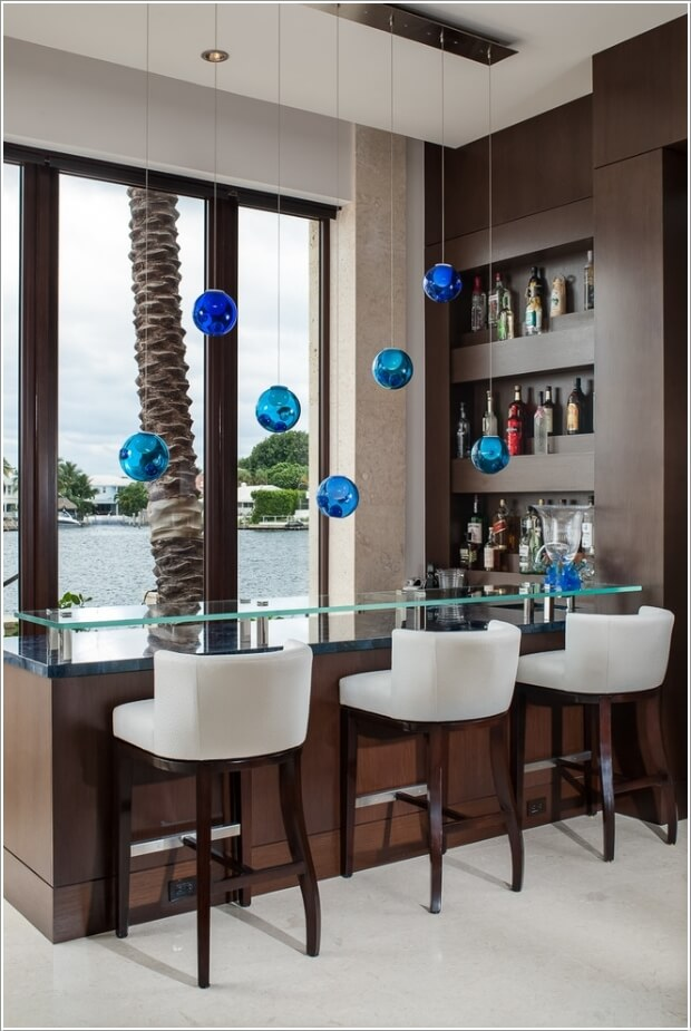 10 Cool and Creative Home Bar Lighting Ideas